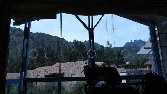 Aranwa Sacred Valley Hotel & Wellness: En las mañanas se ve algo nevado :P