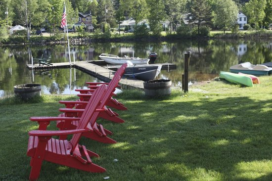 Adirondack Motel: Bring your boat