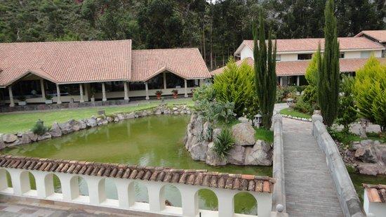 Aranwa Sacred Valley Hotel & Wellness: Vista desde la capilla