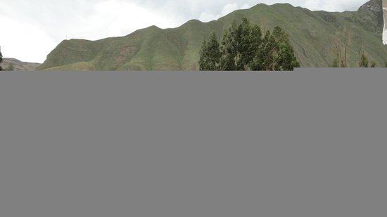 Aranwa Sacred Valley Hotel & Wellness: Vista desde el balcón de la habitación