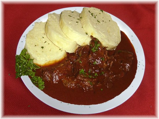 Sauerbraten - Picture of Muller's Famous Fried Cheese Cafe, Helen ...