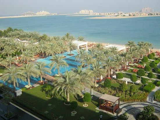 Jumeirah Zabeel Saray:                   A view to remember