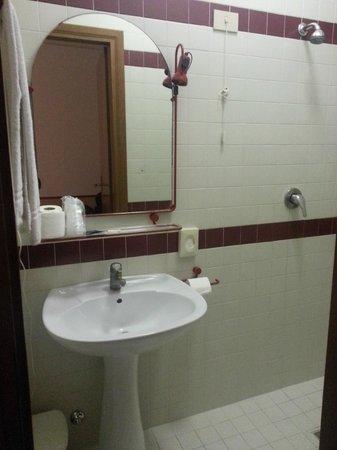 Hotel Serenella:                   Bathroom