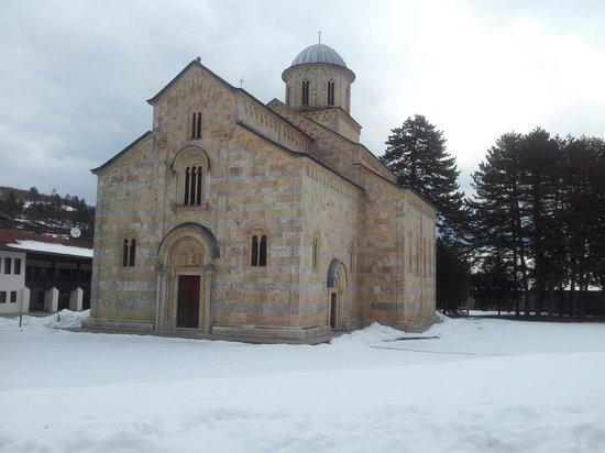 Decan, Kosovo: Visoki Dečani is the largest medieval church in the Balkans