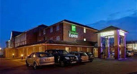 Holiday Inn Express Newcastle Metro Centre:                   carpark