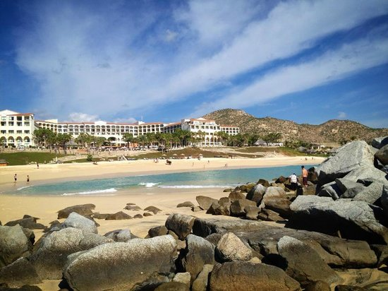 Melia Cabo Real All-Inclusive Beach & Golf Resort:                   View from private beach