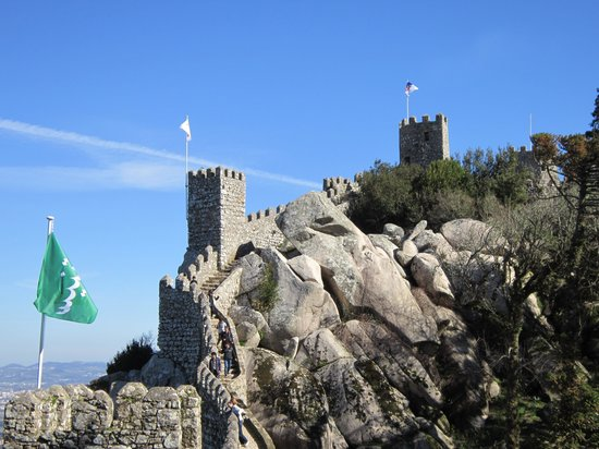 Castle of the Moors: LINDO!