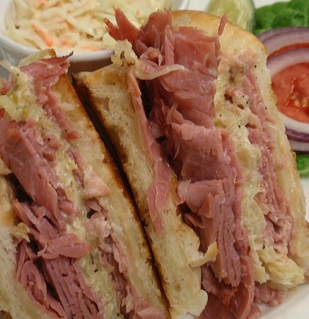 The Grist Mill and One Up Bar: Signature Reuben Luncheon and Tavern