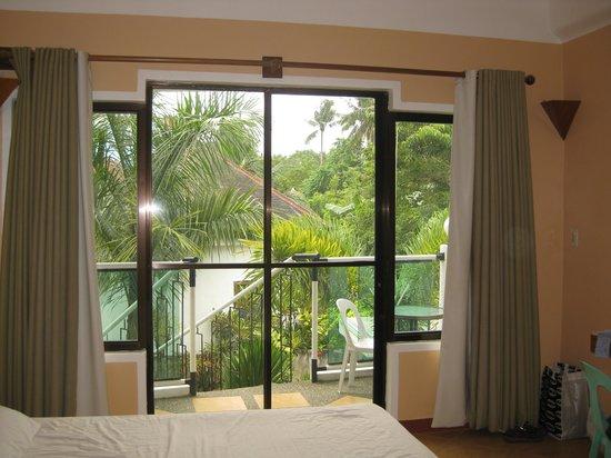 Vårt rum på Turtle Inn Resort