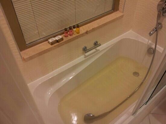 Eser Premium Hotel & Spa: yellow water :(