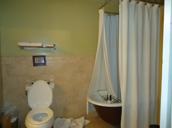 Downtown Historic Bed & Breakfasts of Albuquerque: Claw footed tub