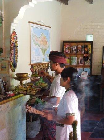 Graha Resort: Reception area
