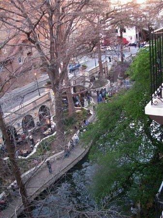 Omni La Mansion del Rio: Riverwalk view from balcony