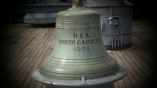 Battleship NORTH CAROLINA: Ship's Bell