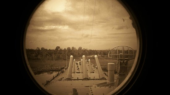 Battleship NORTH CAROLINA: From the Battle bridge