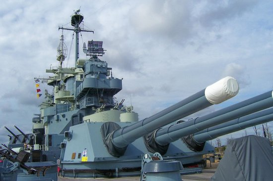 Battleship NORTH CAROLINA: Big Guns