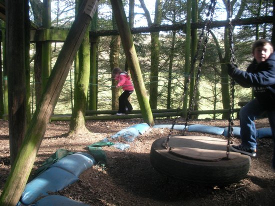 Cream O' Galloway: play area