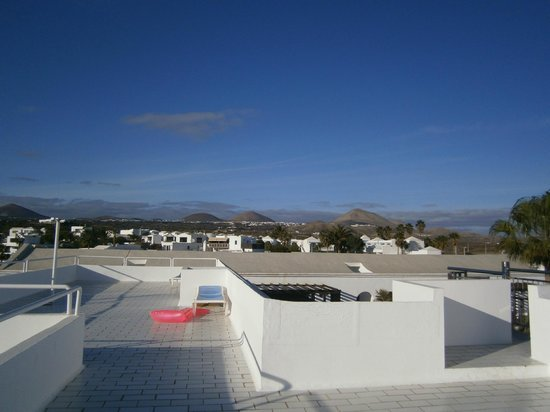 Plaza Azul:                   from roof terrce 2
