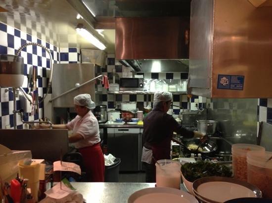 Billy Thai's Restaurant:                   Billy Thais kitchen
