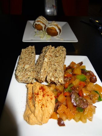 Amerawcan Bistro:                   appetizers