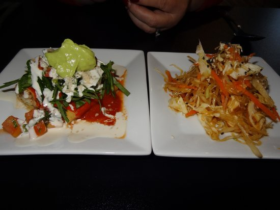 Amerawcan Bistro:                   entrees
