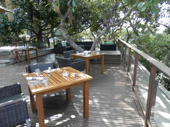 Paresa Resort Phuket: terrasse restaurant