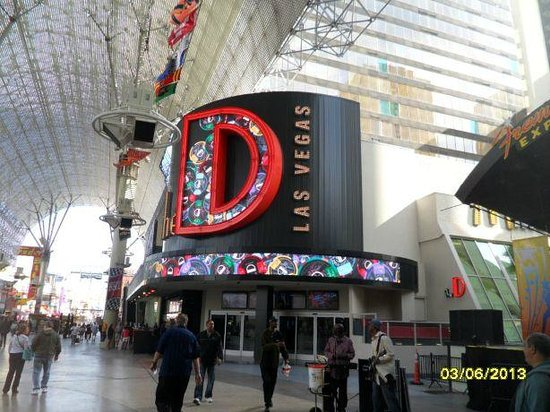 The D Casino Hotel Las Vegas: The D exterior
