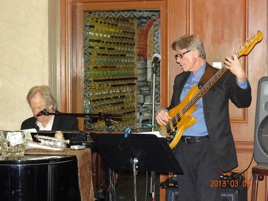 Zingari Ristorante + Jazz Bar:                   Touch of music added to the romantic atmosphere of the restaurant