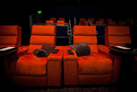 The Premium Plus seats at iPic Theaters offer service at your seats with a pillow & blanket