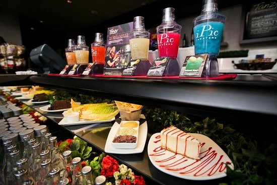 iPic Theaters: Sitting in our Premium Seats? Be sure to stop by Tanzy Express for some treats before your film!