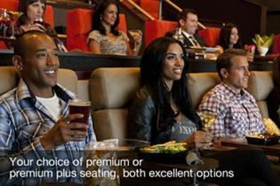 Redmond, WA: iPic Theaters offers two types of seating: Premium & Premium Plus