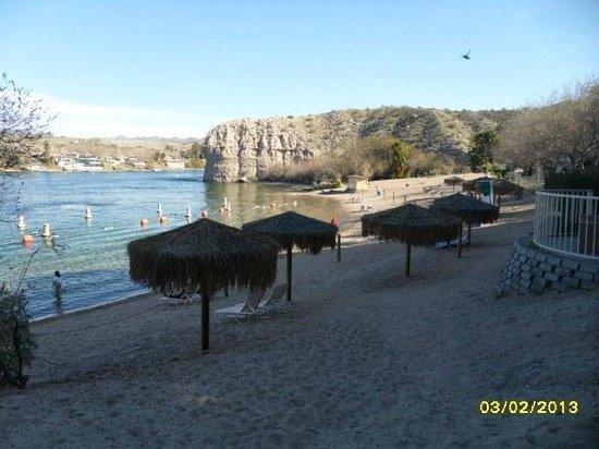 هاراز لوجلين هوتل آند كازينو:                   Beach area                 