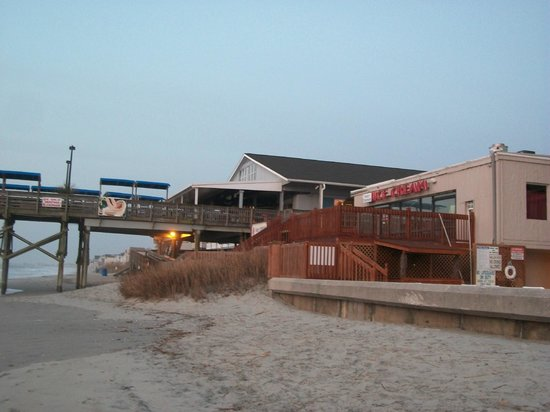 Garden City Beach, SC:                   Painters Ice Cream next door