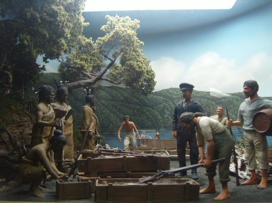 Museo Tawhiti:                                     One of the small scale models
