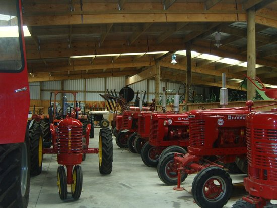 Museo Tawhiti:                                     Part of the machine shed