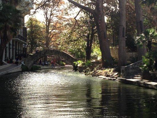 Omni La Mansion del Rio:                                     Riverwalk view