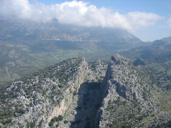 Hotel del Carmen: Salto del Cabrero en la Sierra de Grazalema
