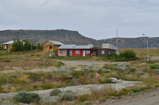 Los Ponchos Apart Boutique:                   Some houses and landscape