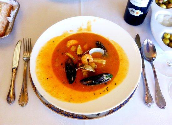 Mediterraneo 1930: Shellfish & seafood soup