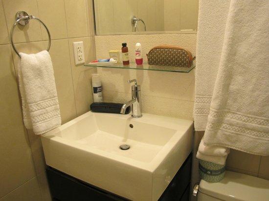Hotel Belleclaire: Banheiro