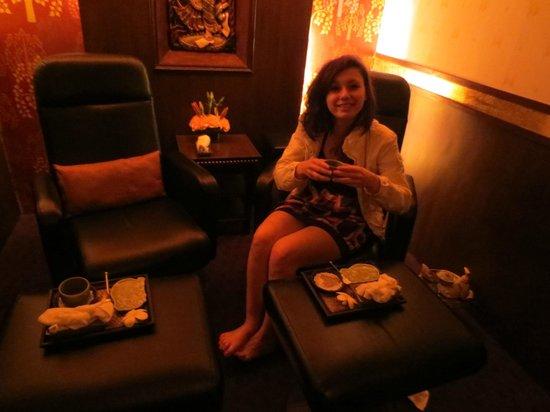 Ramada Plaza Palm Grove : Great Thai massage right next to Ramada
