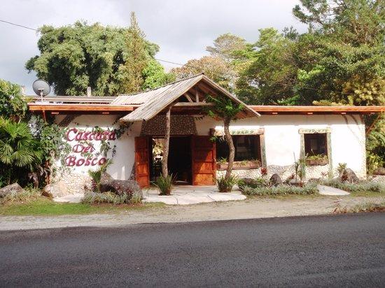 Hotel Cascata Del Bosco: Front of Restaurant