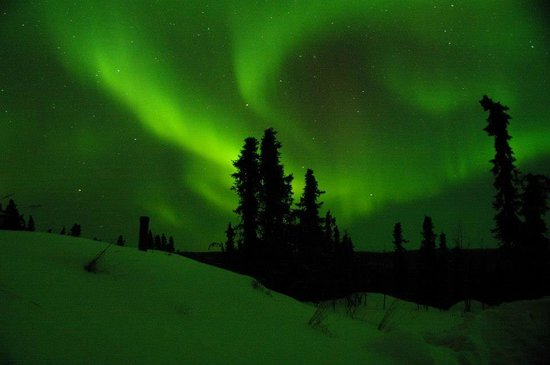 Aurora Borealis Lodge: March 2013
