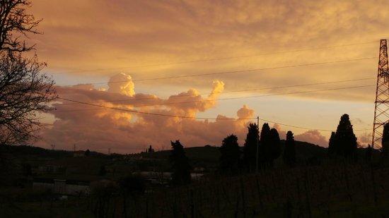 Tenuta La Lupa: tramonto