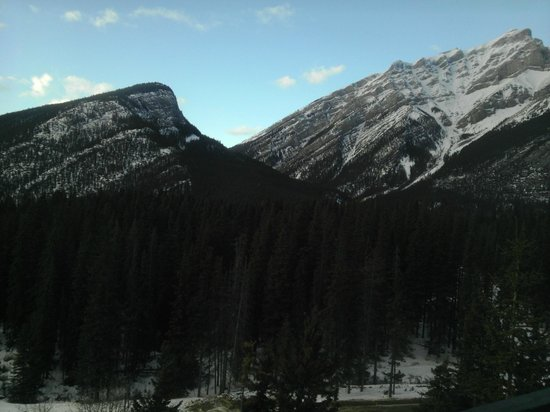 Inns Of Banff:                                     The View from the Junior Suite Room, I stay in