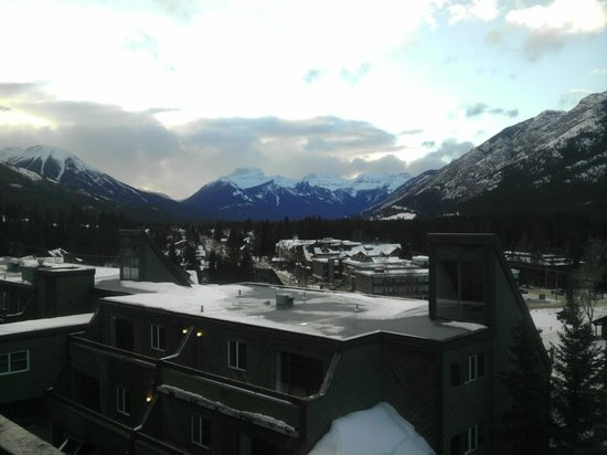 Inns Of Banff:                                     Another view from the Junior suite Room, I stayed
