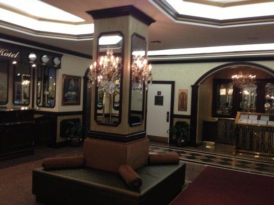 Avenue Plaza Hotel:                   The lobby