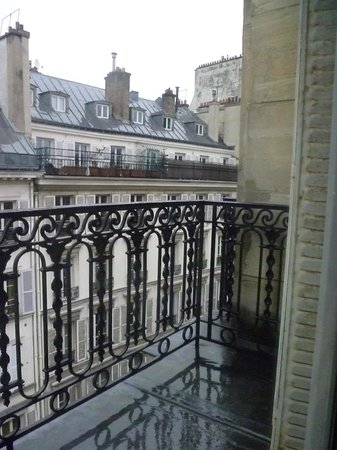 Hôtel Brittany : vue du balcon