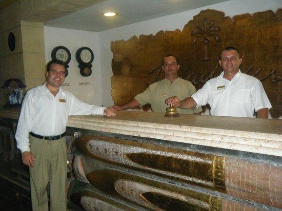 Paradisus Rio de Oro Resort & Spa:                   The Reception