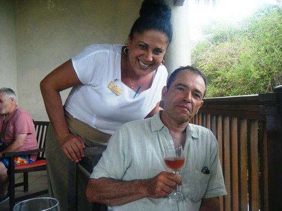 Paradisus Rio de Oro Resort & Spa:                   Vince and the Waitress